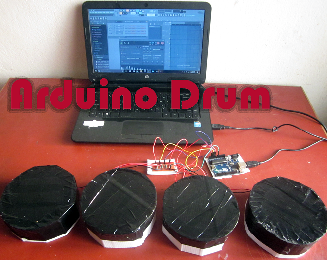 How to make an Arduino Drum Full Tutorial