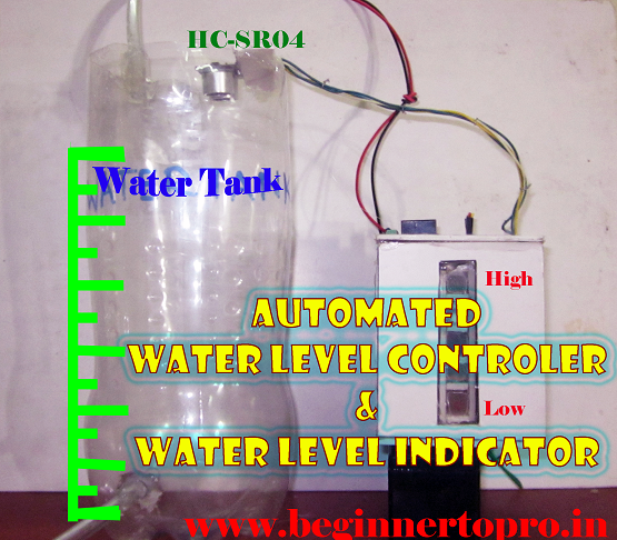 How to make an automated water level controller and indicator